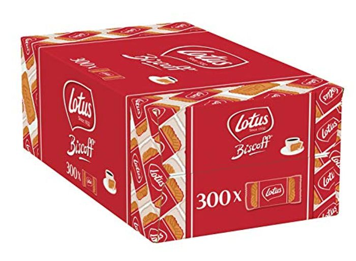 Lotus Biscoff Original Caramelised Single Biscuits (Catering Pack of 300)