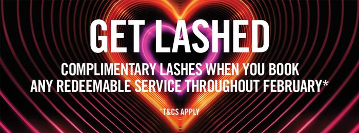 Free Lashes & Fitting When You Book a Make-up Service
