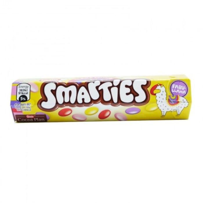 CASE of 24 Smarties Llama Edition 24x38g BBE 30/03/2020