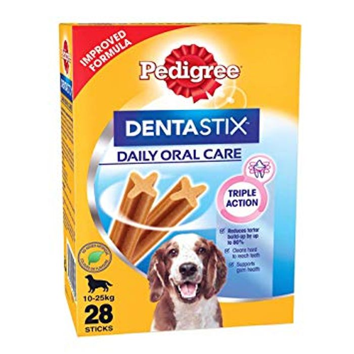 Pedigree Dentastix 28Sticks Medium Dog (10-25kg) 720g BBE 10/5/21