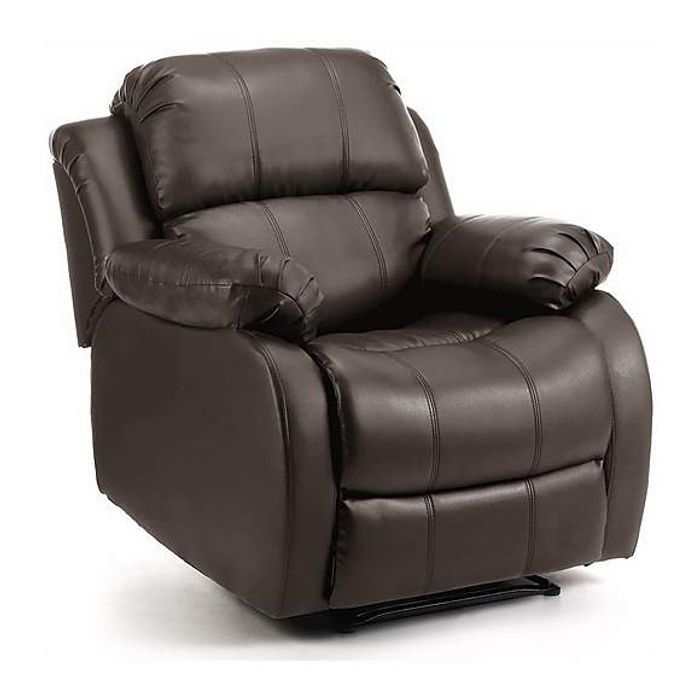 *SAVE over £85* Anton Bonded Leather Reclining Leather Armchair