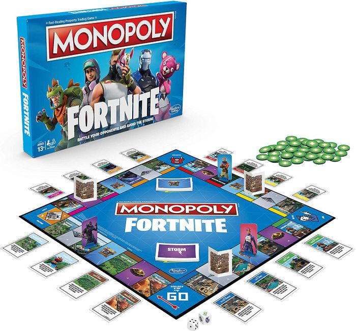 Monopoly: Fortnite Edition - Board Game