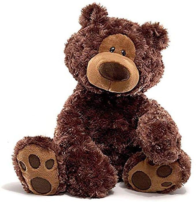 GUND Philbin Bear - Chocolate LARGE 18 INCH ***4.6 STARS***