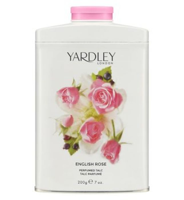 Yardley English Rose Talc 200g Down From £7.49 to £6.37