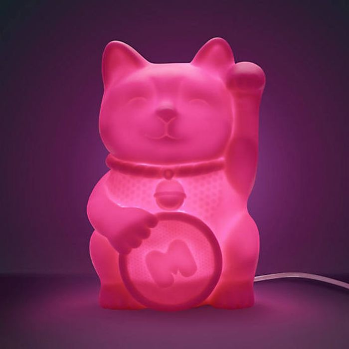 Mustard Lucky Cat Light Down From £25 to £10