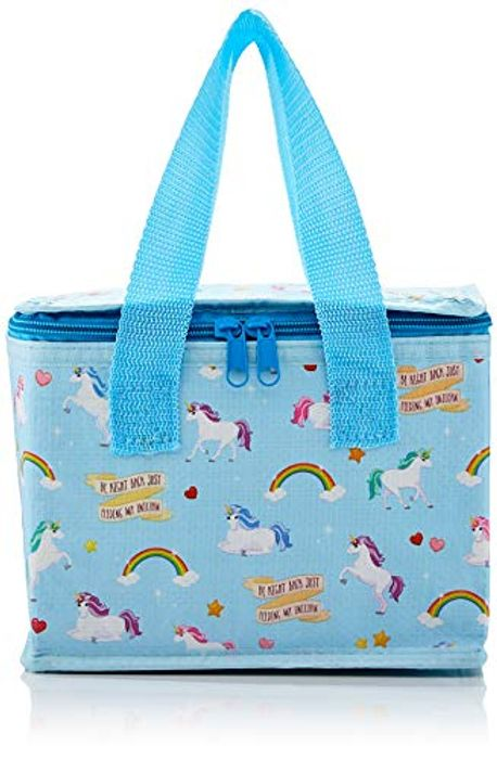 Puckator Cool Bag, Fabric, Blue, 13 X 20 X 16 Cm FREE DELIVERY