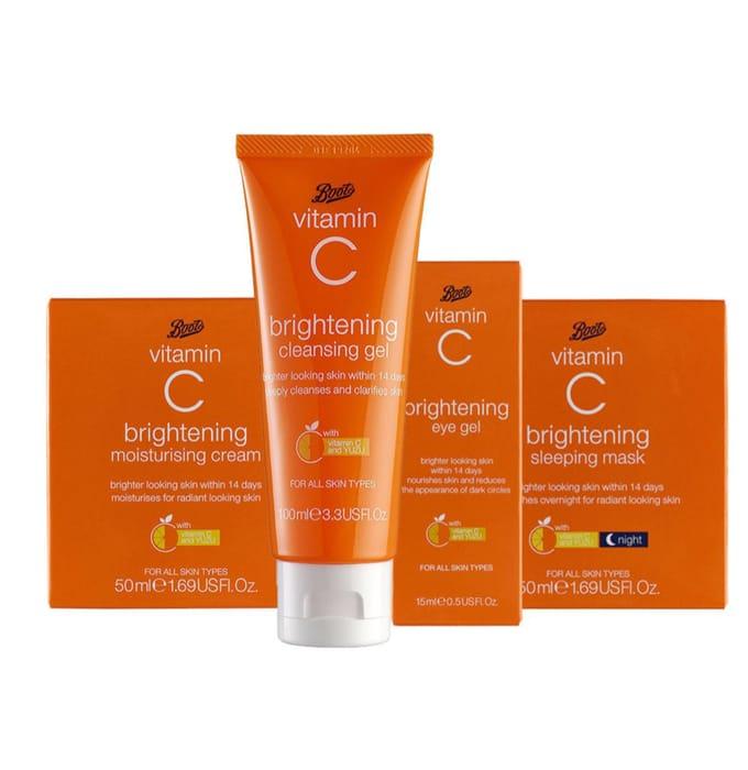 Boots Vitamin C Skincare Bundle - Save £4