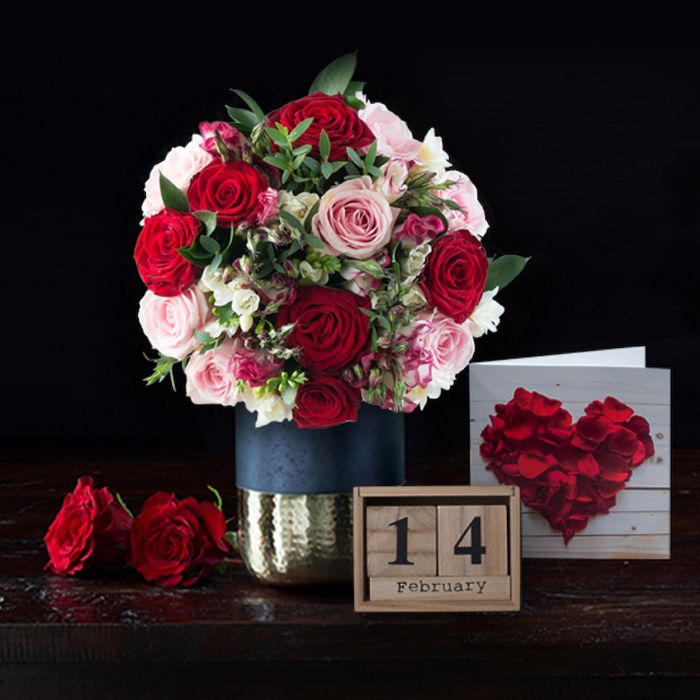20% off All Valentine's Day Bouquets at Appleyard Flowers
