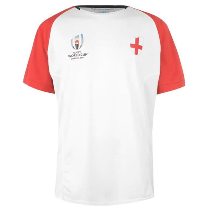 Rugby World Cup 2019 Team Poly T Shirt Mens