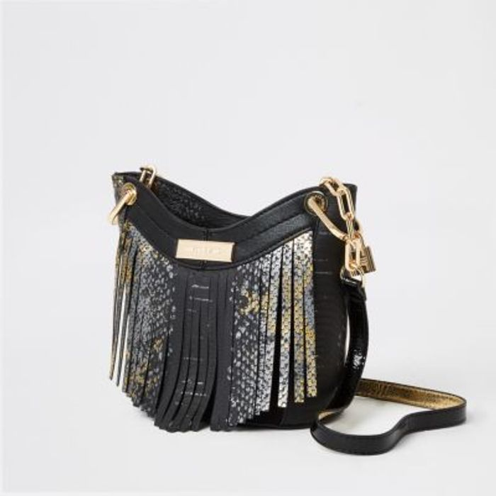 River Island Snakeskin Bag