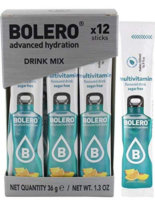 Bolero Sticks Drink, 3 g, Multivitamin, 12-Count