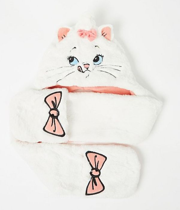 Disney the Aristocats Marie Hooded Scarf