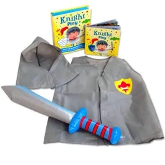 Knight Play Book And Accessories