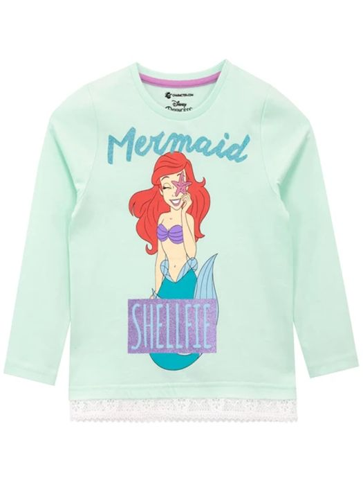 The Little Mermaid Long Sleeve Top - Only £1.95