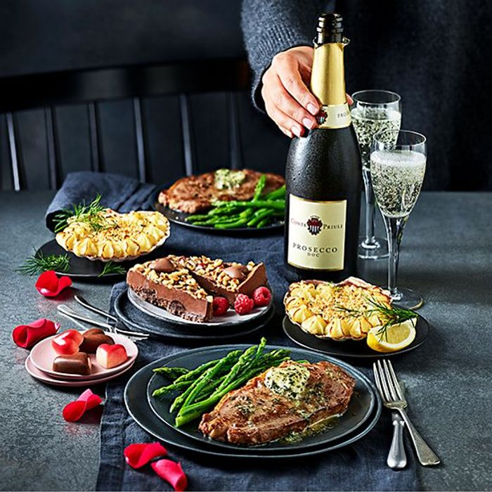 M&S Valentines Day Dine In for 2 with Wine