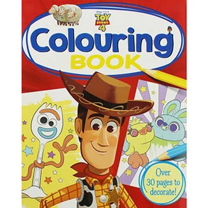 Disney Pixar Toy Story 4 Colouring Book