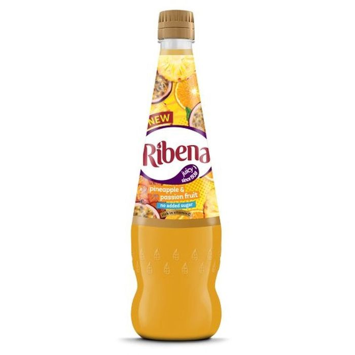 Ribena Pineapple & Passion Fruit 850ml CLEARANCE XL 59p or 2 for £1
