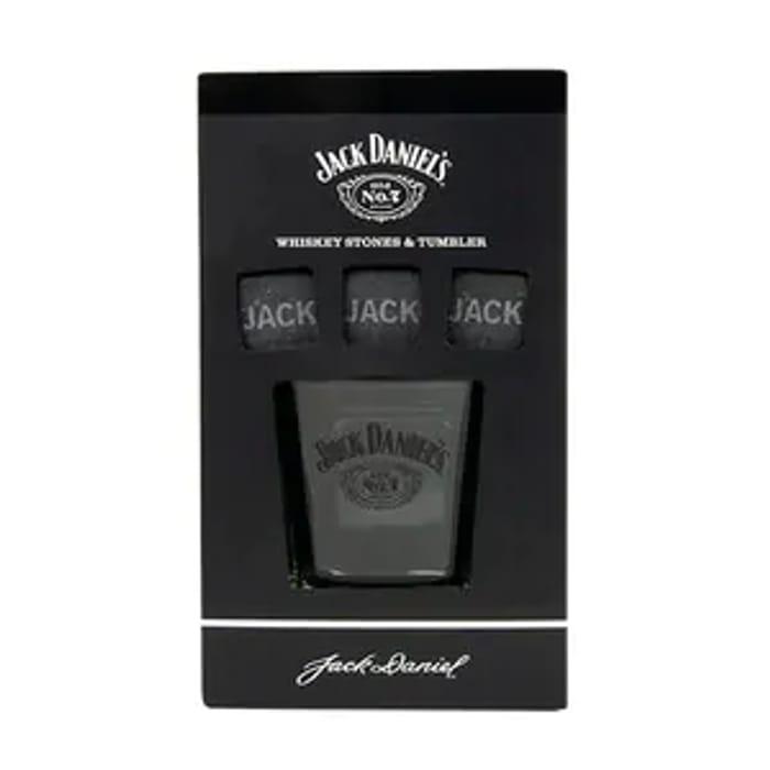 Jack Daniel's Glass & Whiskey Stones BACK in STOCK