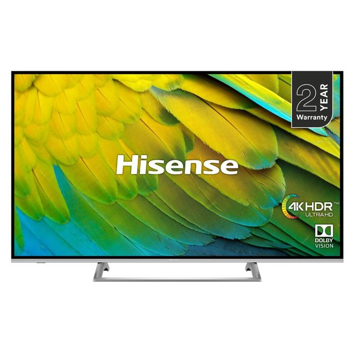 "*SAVE £140* Hisense 50"" 4K HDR Certified Smart TV Discount Applied at Checkout"