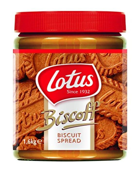 Best Ever Price! Lotus Biscoff 1.6kg Jar - Original Caramelised Spread Smooth