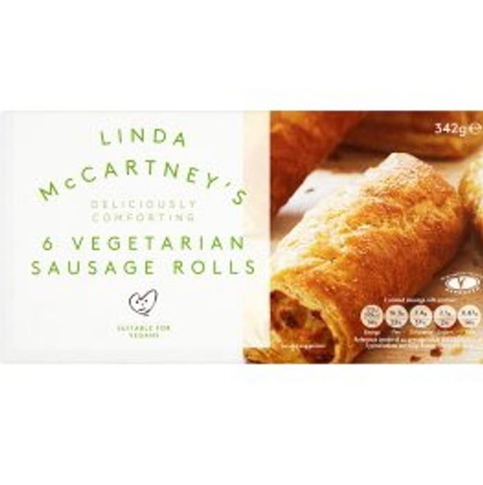 6x Linda McCartney Sausage Rolls £1 at Farmfoods