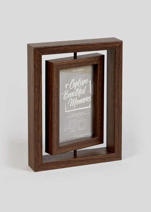 Rotating 2 Aperture Photo Frame - save £3.50