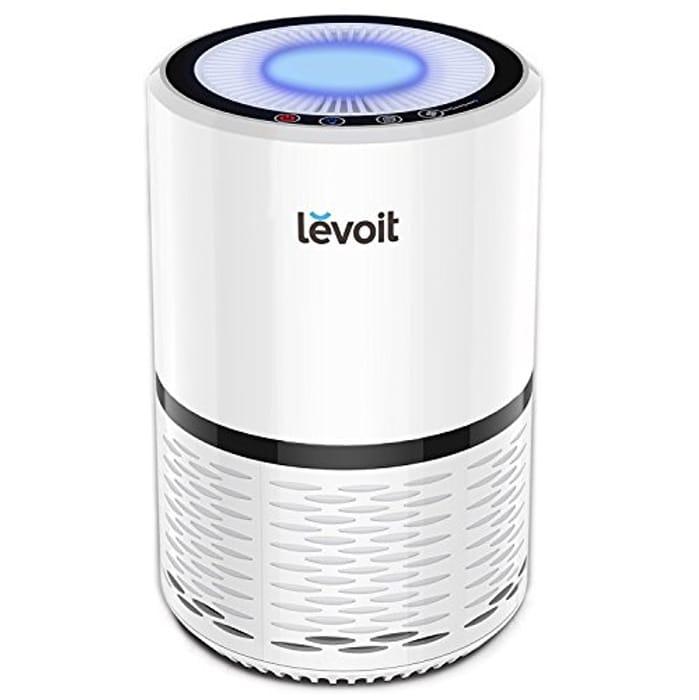 LEVOIT Air Purifier with True HEPA Filter, 3 Speeds