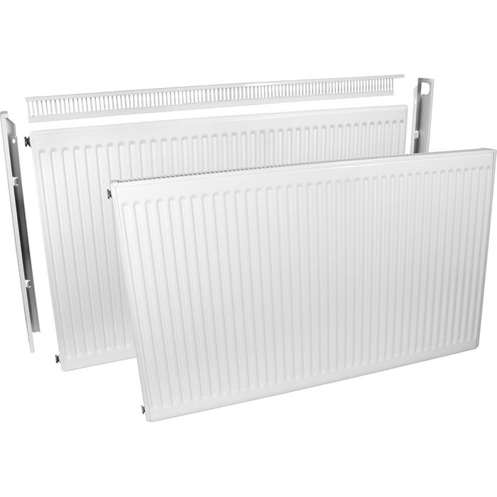 Barlo Delta Compact Type 11 Single-Panel Single Convector Radiator 500 X 600mm