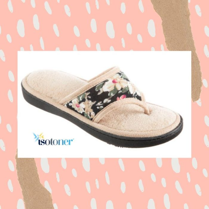 Free Thong Slider Slippers