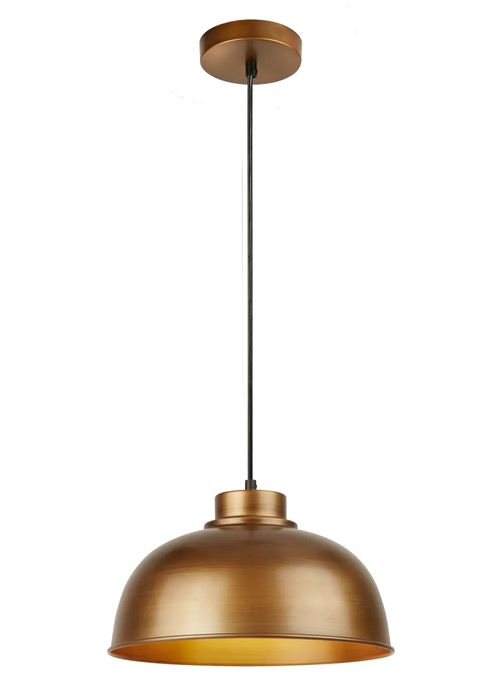 Nash Industrial Brass Pendant (W30cm X H17cm)