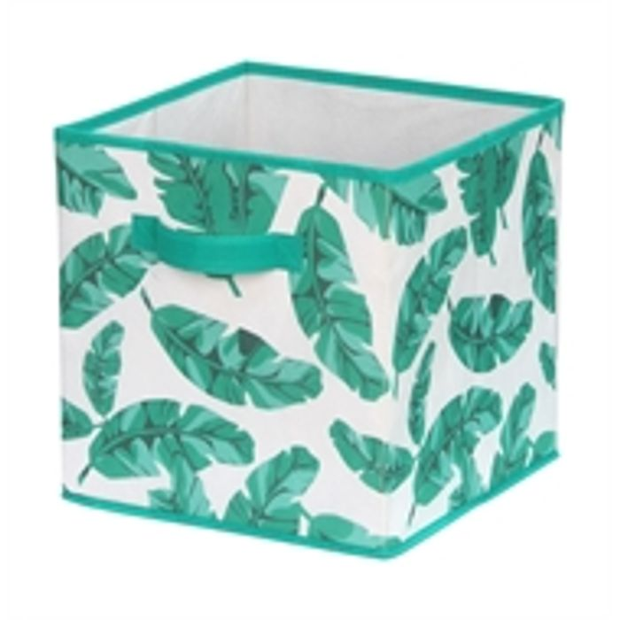 Compact Cube Fabric Insert - Tropical Palm