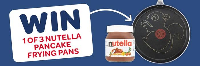 Win 1 of 3 Nutella Pancake Frying Pans