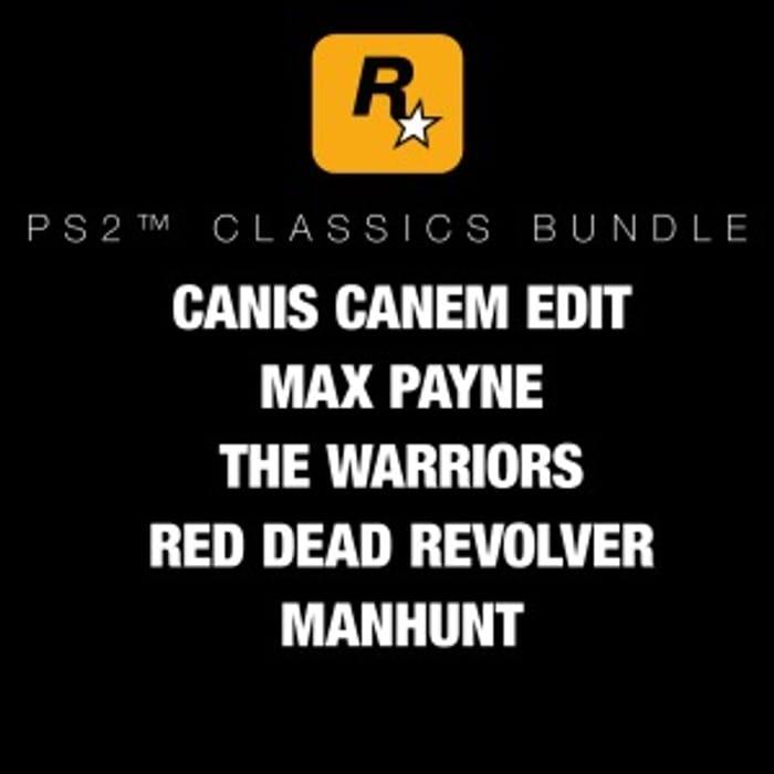 Rockstar Games PS2 Classics Bundle PS4 £23.99 at PSN