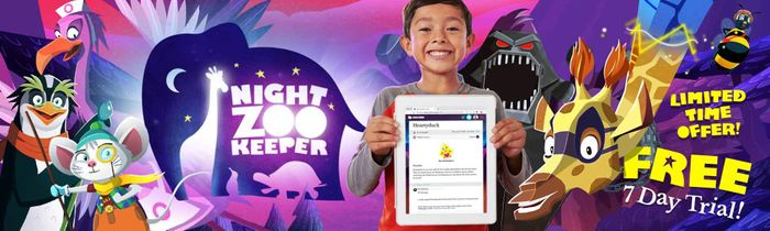 Night Zookeeper Reading & Writing Programme Free Trial