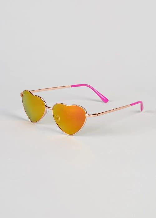 87% Off Kid's Heart Sunglasses