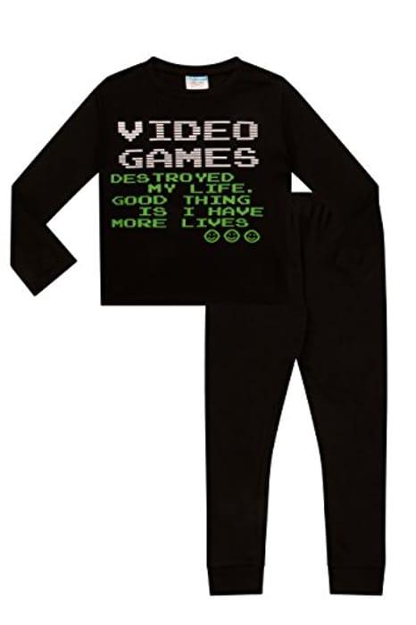 Video Games Lives Long Gaming Pyjamas