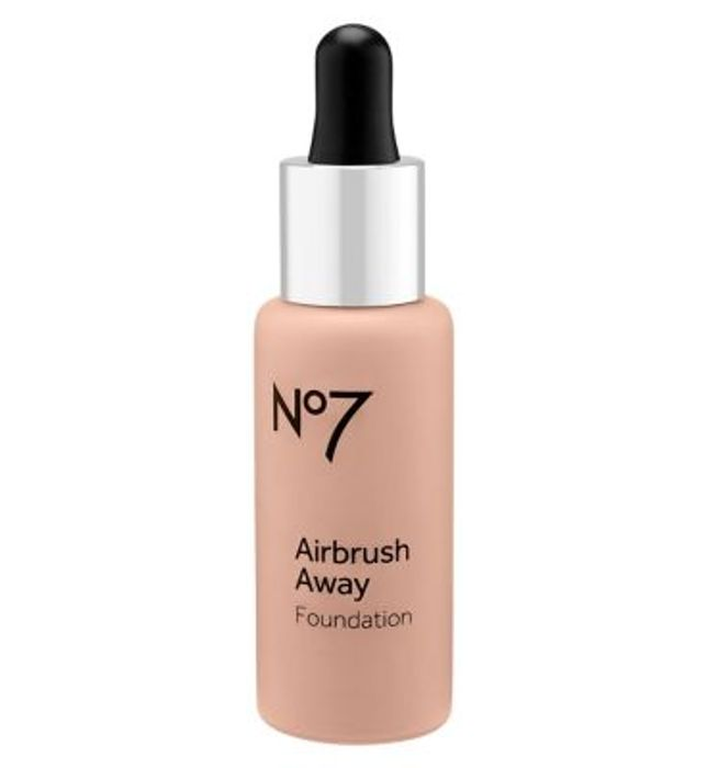 No7 Airbrush Away Foundation 30ml 2 for £9