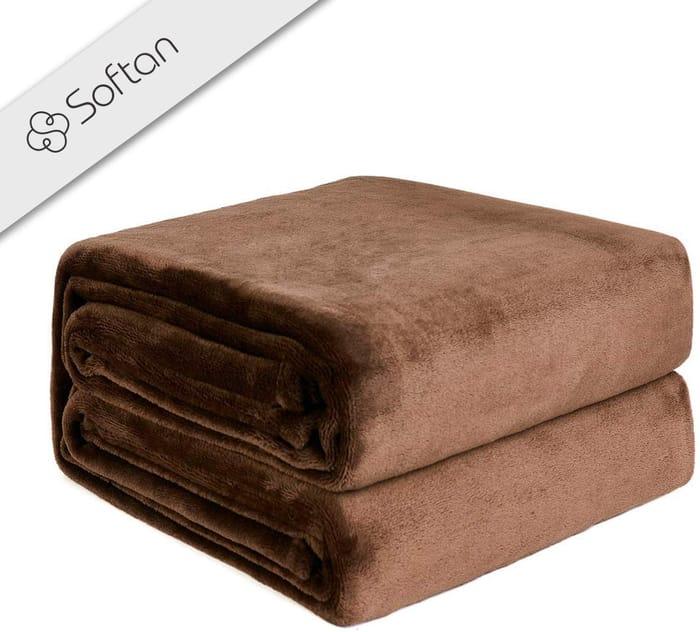65% OFF! Fleece Blanket 130cm x 150cm £4.20!