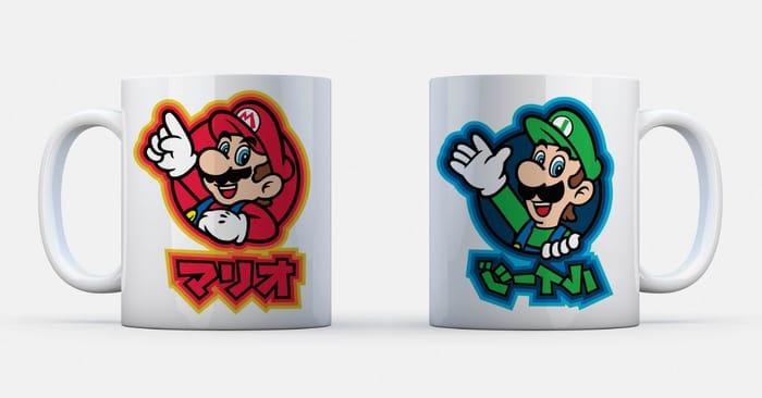 Free Super Mario Mug - Cashback