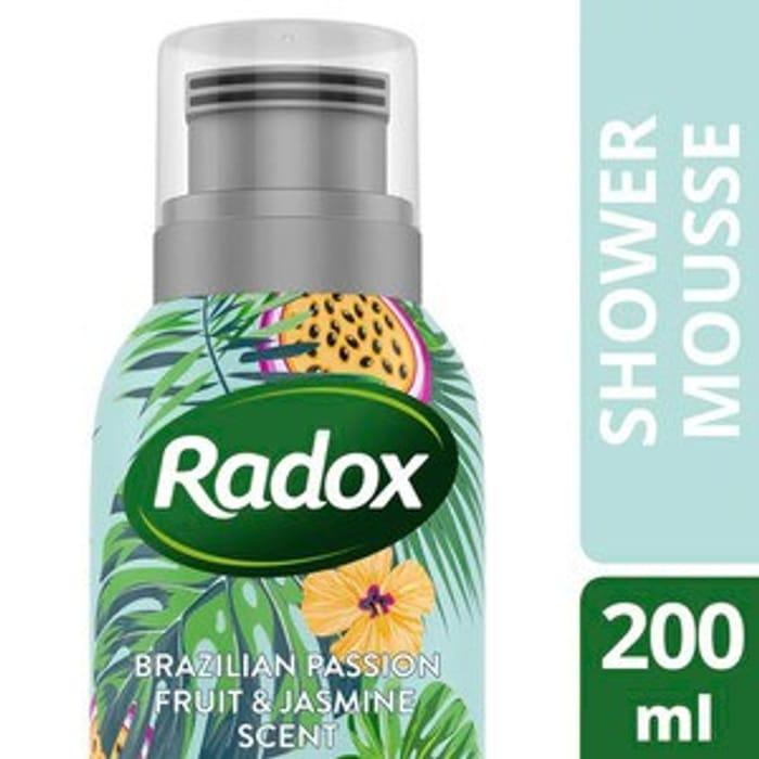 Radox Find Your Sunshine Shower Mousse