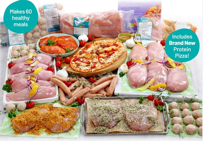 Buy 1 Super Lean Meat Hamper Get 3 FREE - Includes Protein Pizza!