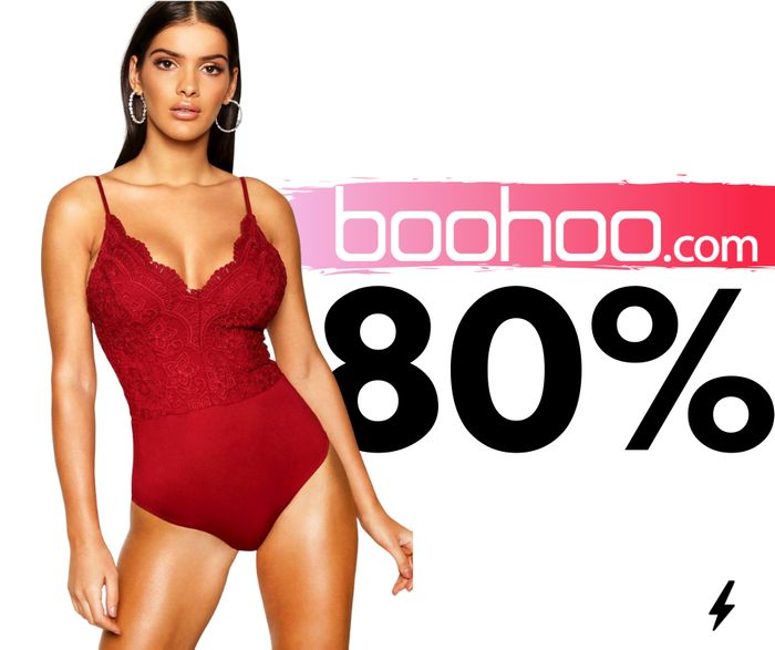Up To 80% Off EVERYTHING at boohoo