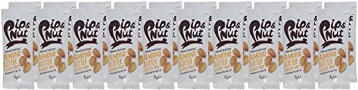 Pip & Nut Smooth Almond Butter Squeeze Packs - 20 Packs for £1