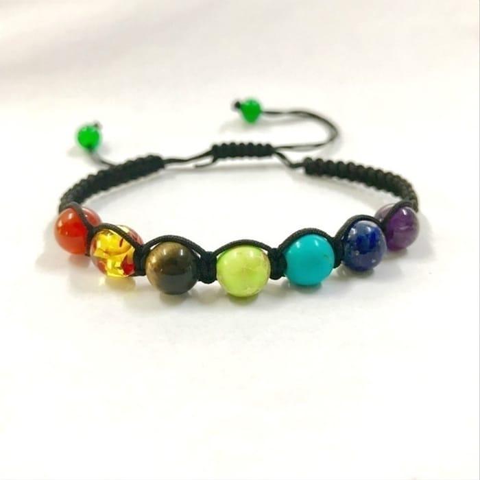 Free 7 Chakra Healing Balance Beads Bracelet