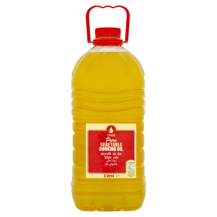 Tesco Vegetable Oil 5 Litre