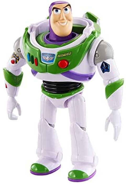 Best Ever Price! Disney Pixar Toy Story 4 True Talkers Buzz Lightyear Figure