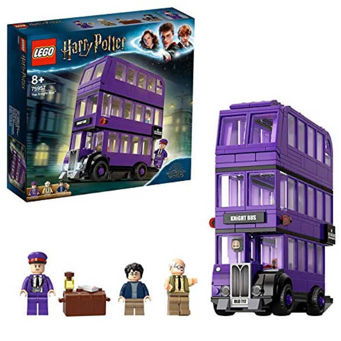 LEGO 75957 Harry Potter Knight Bus Toy, Triple-Decker Collectible Set