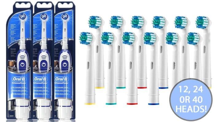 Braun Oral-B Electric Toothbrushes