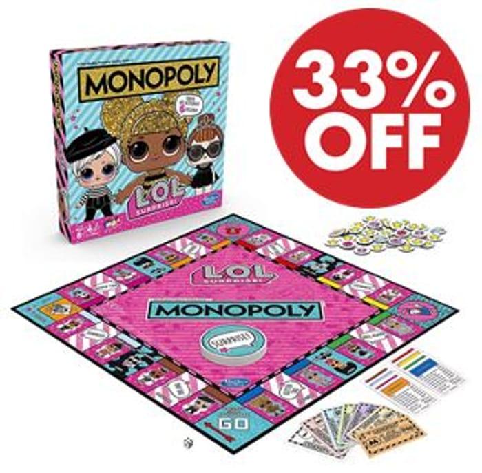 Monopoly L.O.L. Surprise Edition Board Game *4.7 STARS*