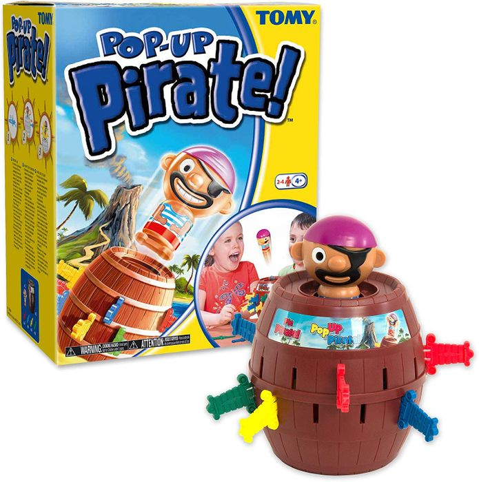 TOMY Pop-up Pirate - The Classic Children's Game